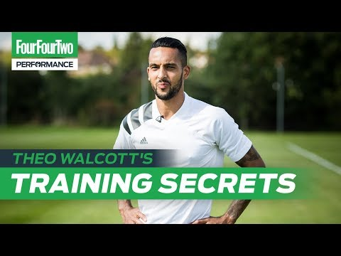 "Theo Walcott's Training Secrets | ""I've worked with a sprint coach!"""
