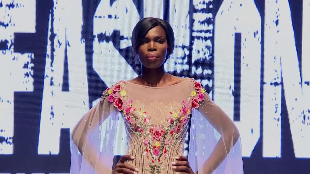 Mona Al Mansouri Emirati International Fashion Week Dubai Season 5 Youtube