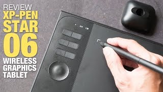 Review: XP-Pen Star 06 Wireless Graphics Tablet