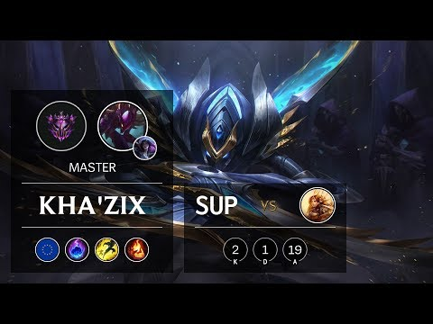 Kha'Zix Support vs Leona - EUW Master Patch 9.22