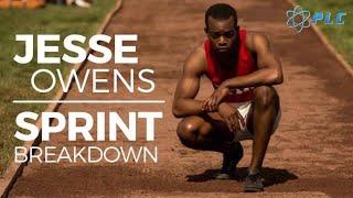 Jesse Owens Sprint Breakdown