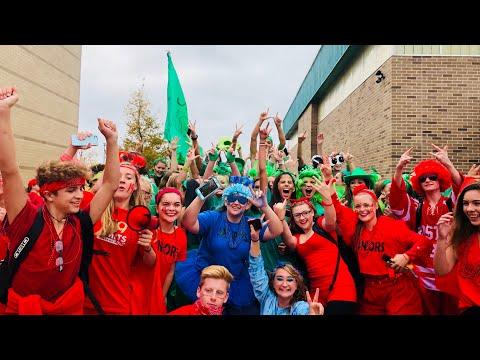 East Lyme High School Spirit Week 2017