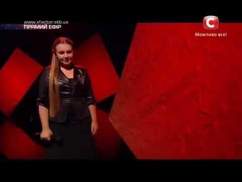 Видео: Х фактор 5  Валерия Симулик  Rolling in the Deep Adele cover  Второй прямой эфир 15 11 2014