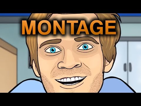 PEWDIEPIE ANIMATED MONTAGE