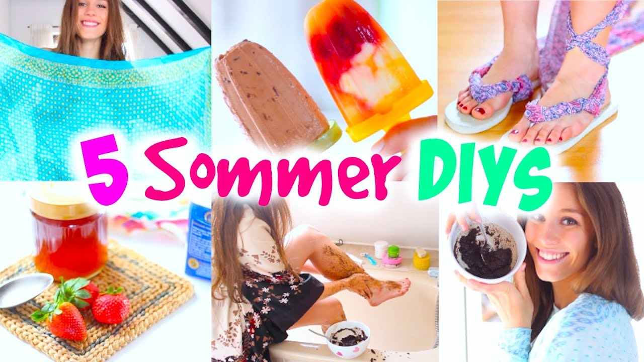 5 easy sommer diy ideen nutella eis r ckenfreies top erdbeer maske und mehr. Black Bedroom Furniture Sets. Home Design Ideas