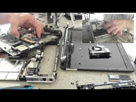 Desmontando o notebook HP Pavilion DV4