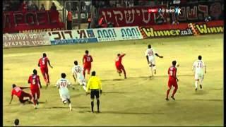 בני סכנין נגד הפועל תל אביב 1-0 עונת 2011-2012