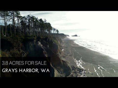 Land for Sale: 3.8 Acres in Grays Harbor with Ocean Views