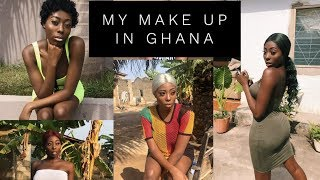 quotHOW MY MAKE UP STAYS ON ALL DAY IN GHANAquot  GHANA SERIES