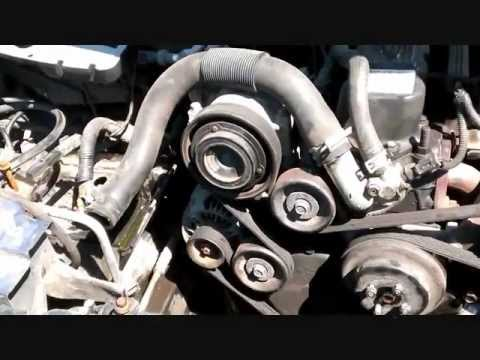 Radiator Removal Jeep Grand Cherokee video