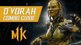 D'Vorah Combo Guide (Tournament/Ranked) – Mortal Kombat 11