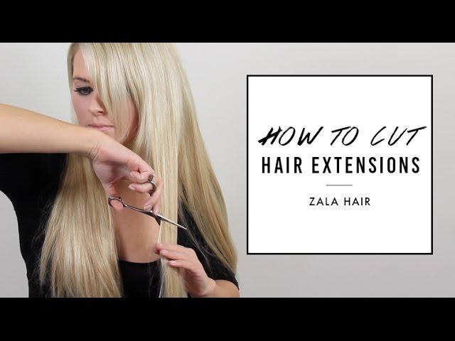 How To Cut Hair Extensions To Blend Zala Hair Clipzui