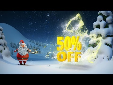 Christmas After Effects Template For Holiday Opener Santa