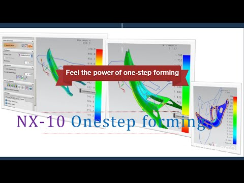 NX Onestep forming-
