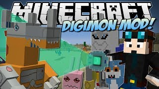 Minecraft | DIGIMON MOD! (Digivolve, Collect & Bae!) | Mod Showcase