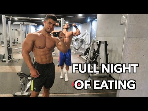 Shredding During Ramadan FULL NIGHT OF EATING with Twin Workout
