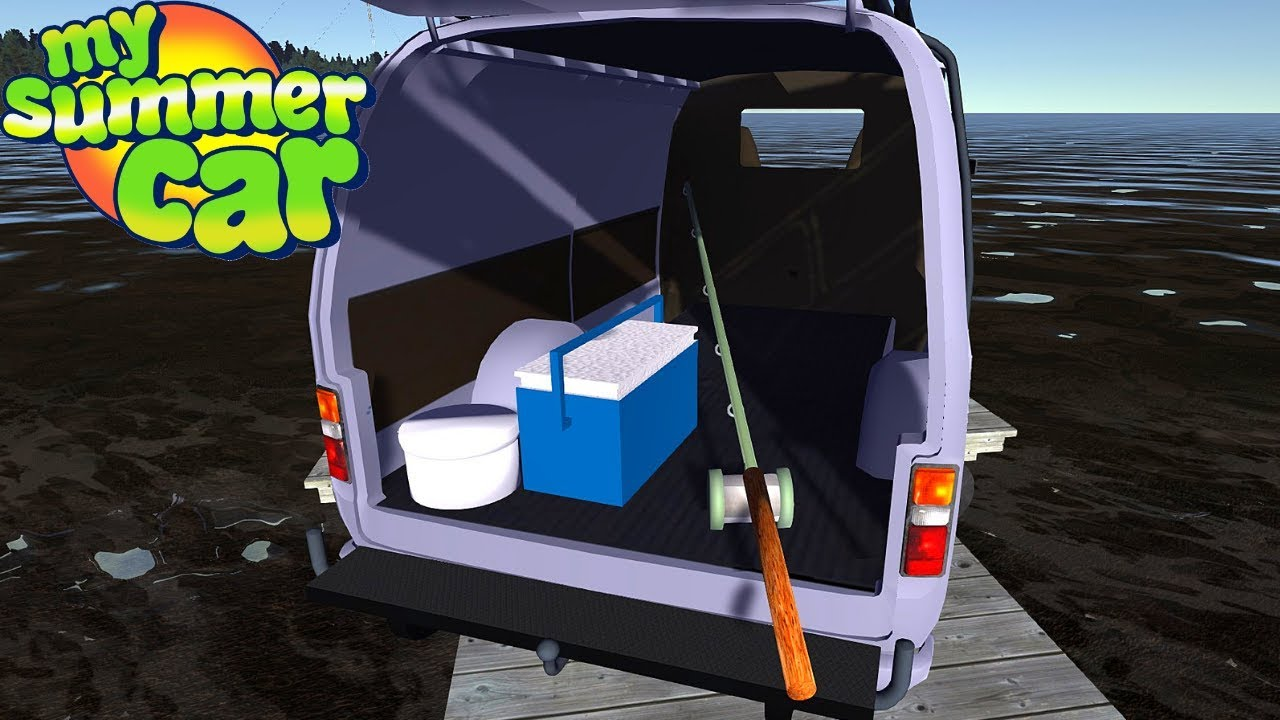 FISHING MOD - FISHING TRIP - My Summer Car #147 (Mod)