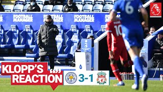 Klopp's Reaction: Jürgen's assessment of Foxes defeat | Leicester City vs Liverpool