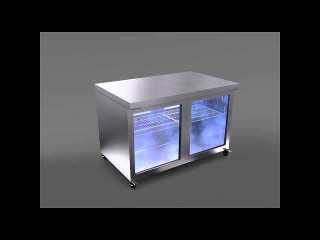 Hoshizaki Undercounter and Worktop Refrigeration Airflow