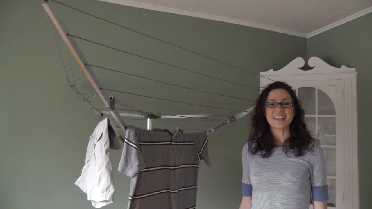 Household Essentials Portable Umbrella Dryer. Urban Clotheslines
