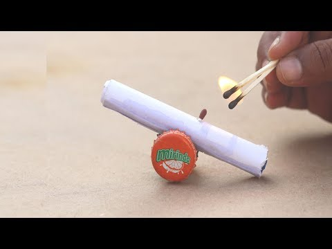 How To Make Paper Cannon That Shoots [DIY]