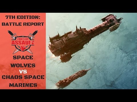Space Wolves vs Chaos Space Marines 2000pts Batle Report