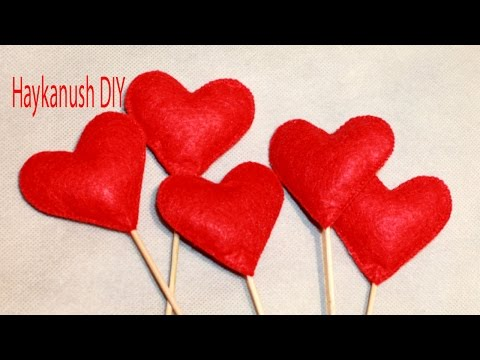 DIY HOW TO MAKE VALENTINES GIFTS HEART