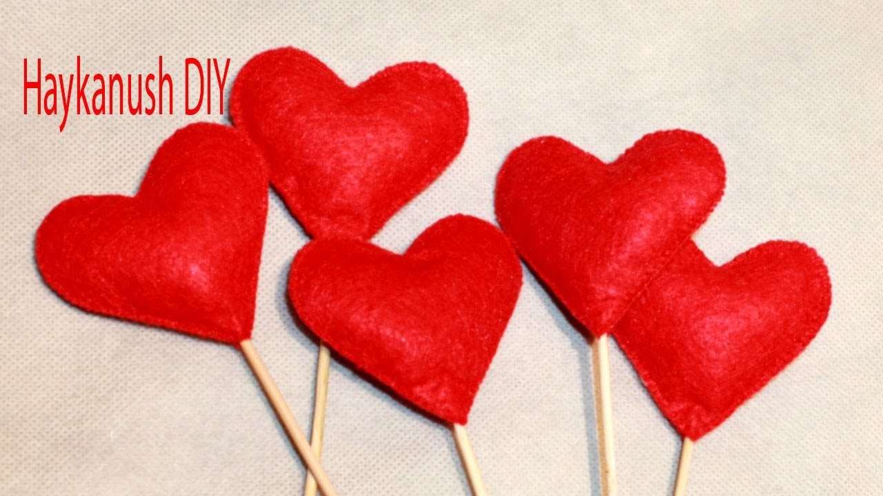 diy how to make valentines gifts heart youtube