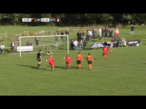 CPD Llanfairpwll' 1 3 CPD Y Rhyl - Sgorio Highlights, Welsh Cup 2nd Round