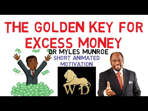 WOW! MIND BLOWING SECRET TO FINANCIAL FREEDOM IN THE KINGDOM by Dr Myles Munroe (YOU NEED THIS!)