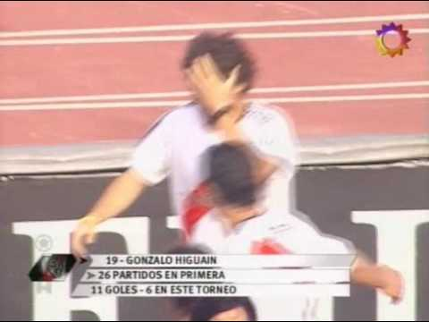 Higuain goal River Plate vs Boca Juniors