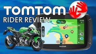 Tomtom Rider Motorcycle Sat Nav GPS Review 42, 450, 500, 550 cheap compared to Garmin