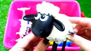 Animals Farm Toys Baby Find Mom   Learn Animals Names and Sounds Educational Toys for Kids ★ Sea Ani