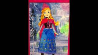 "FROZEN PRINCESS ANNA Water Paint 24""x36"""
