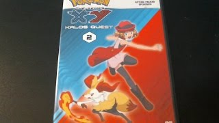 pokemon the series kalos quest set 2 dvd
