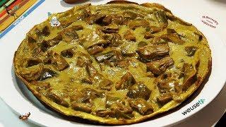 30 - Tortino di carciofi...in un attimo lo scrofi! (secondo piatto vegetariano facile da preparare)