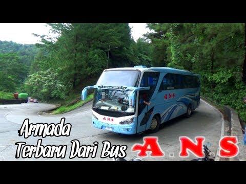 Dua Unit Armada Terbaru Dari Bus ANS Turuni Jalur Sitinjau Lauik