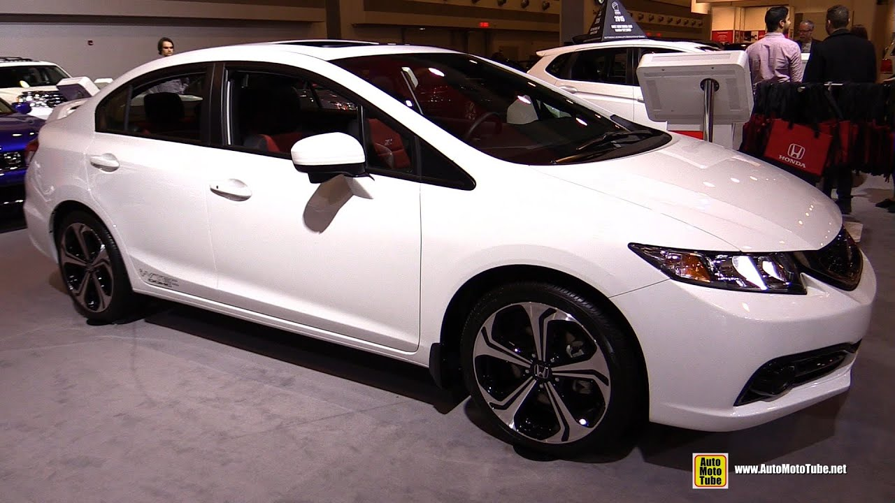 2015 Honda Civic Sedan Si Exterior And Interior