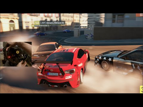 FH2 GoPro OnlineDrifting - Rocket Bunny GT86 Open Lobby Live Comm