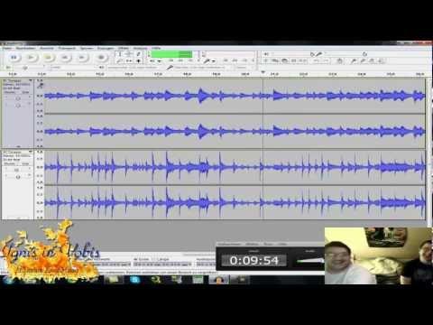 Musik Aufnahme und zusammenschneiden