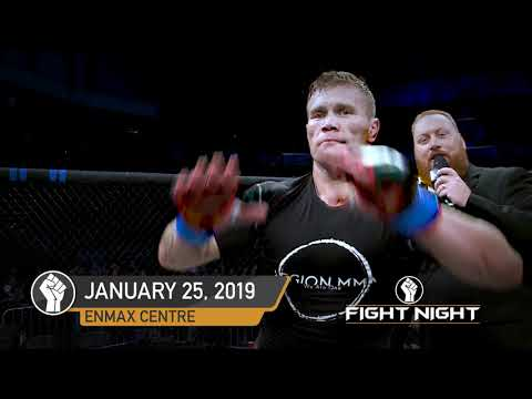 Fight Night In Lethbridge Jan 25th 2019