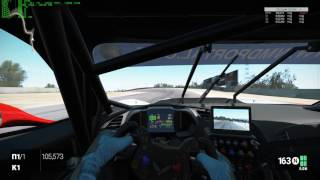 Project CARS Corvette C7R at Laguna Seca warm + hot lap