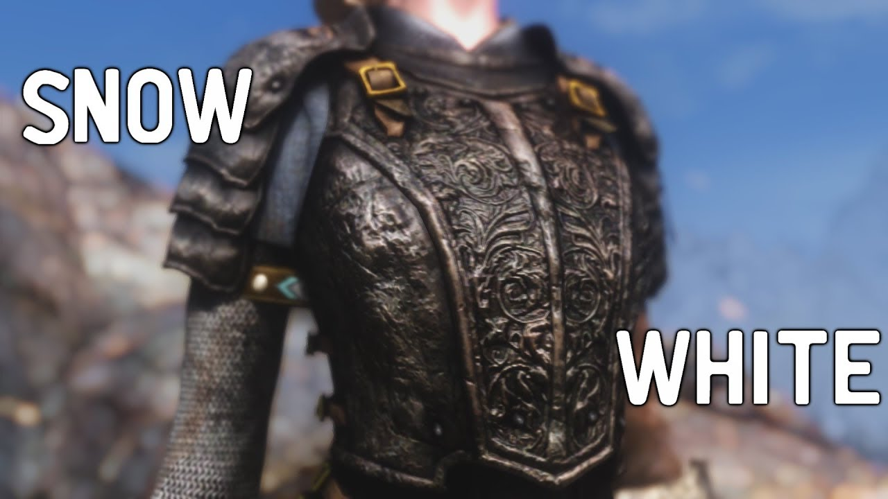 Skyrim Mod Shopwindow: Snow White Armor