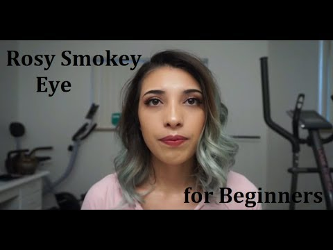 Simple Rosy Smokey Eye for Beginners