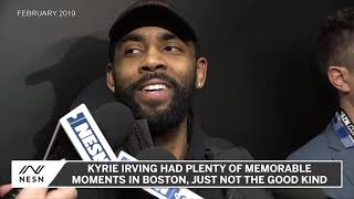 Kyrie Irving Top Quotes With Celtics, 'Energy Of The Basketball'