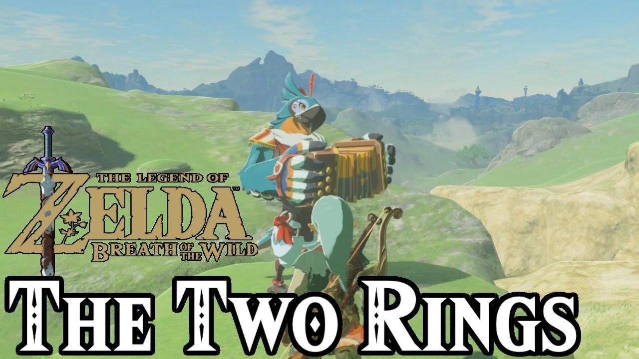 The Two Rings Shrine Zelda