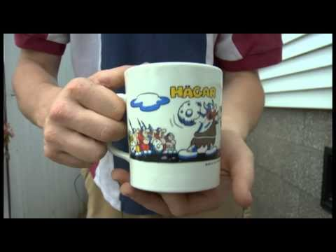 Hagar The Horrible Coffee Mug Music Box