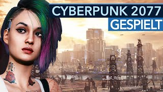 Cyberpunk 2077 endlich gespielt: Preview-Video mit massig Gameplay
