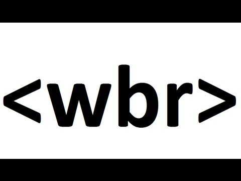 Learn HTML Code: Word Break