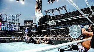 shane mcmahon vs aj styles   wrestlemania 33   highlights